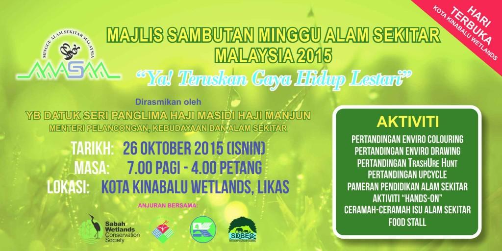 Minggu Alam Sekitar Malaysia 2015 Poster