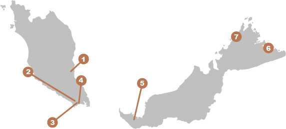 Ramsar Site Map