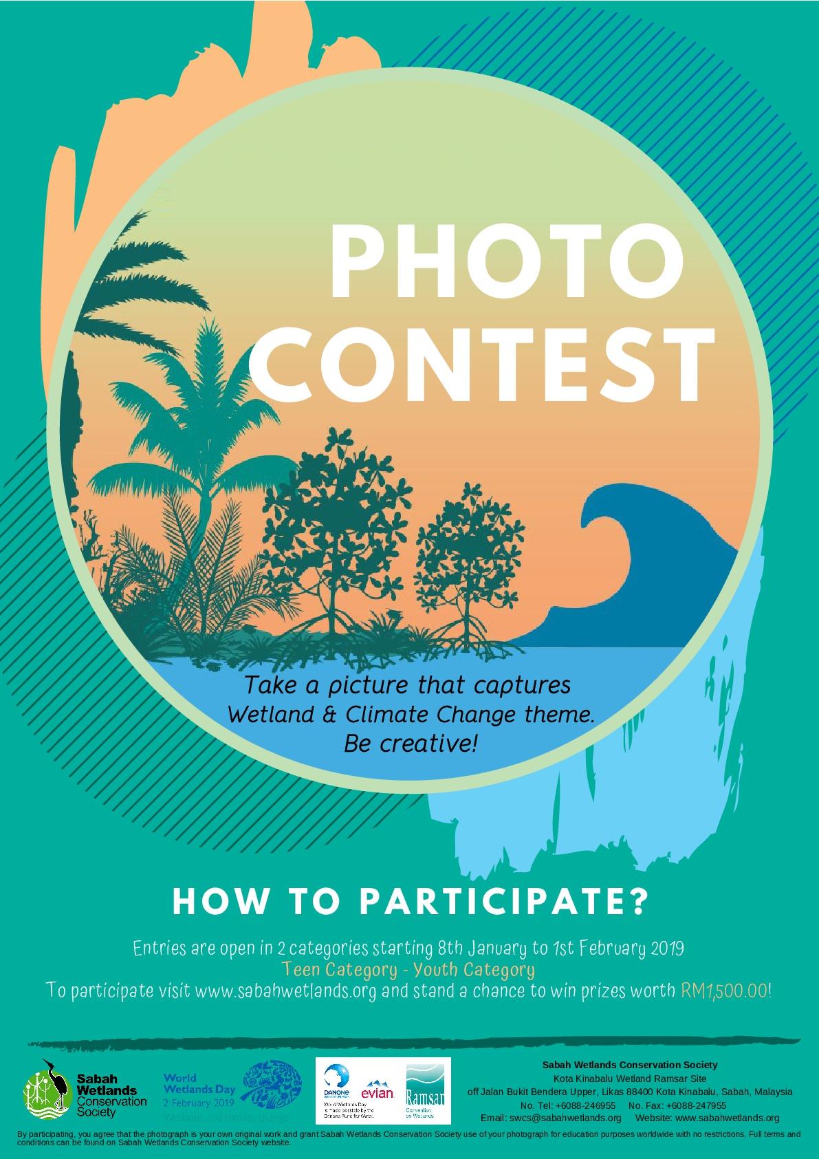 PHOTO CONTEST (WORLD WETLANDS DAY 2019) | Kota Kinabalu Wetland